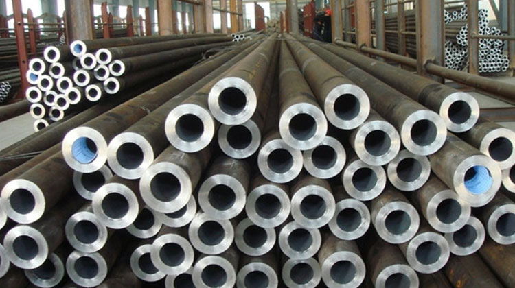 Original Photograph Of SA213 Alloy Steel Tube At Our Warehouse, Mumbai