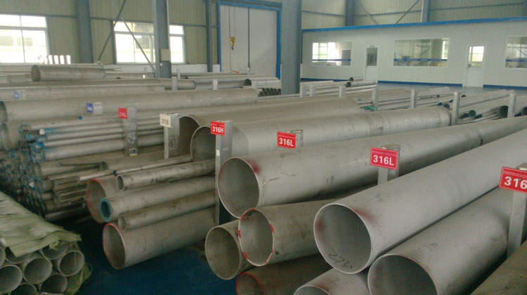 Original Photograph Of Stainless Steel 316 Pipe & Tube At Our Warehouse, Mumbai