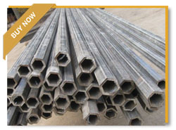 Nickel 200 Hexagonal Pipe