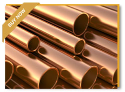 Copper Alloy Seamless Tube, ASTM B111, 3/4 Inch