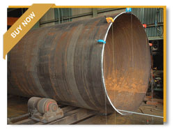 large diameter erw steel pipe for steam