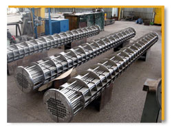 Shell and Tube Type Heat Exchanger/Condenser